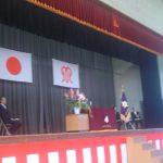 神奈川県立伊志田高校入学式に参加