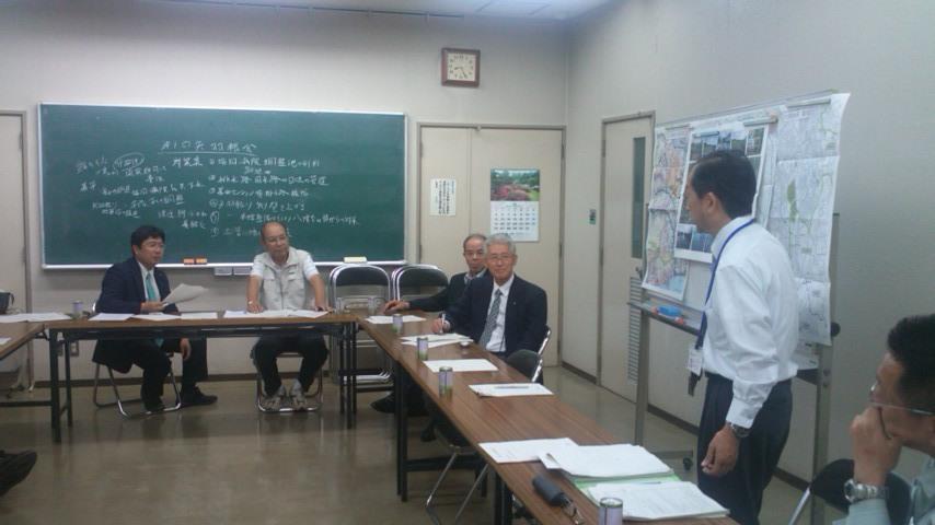 第1回矢羽根川周辺整備対策協議会(矢羽根会)発足