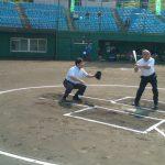 第56回小田急沿線8市親善野球大会開会式参加