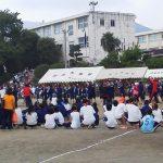 伊勢原市立中学校4校体育祭に参加