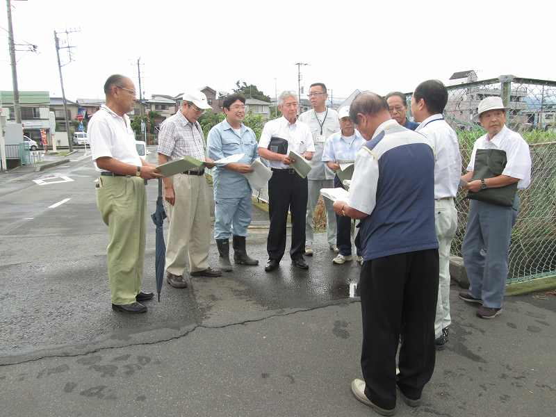 第2回矢羽根排水路整備促進協議会(矢羽根会)開催