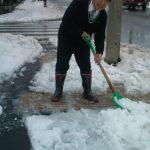 伊勢原地区記録的な豪雪