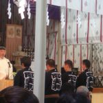 権田直助慰霊祭に参加。