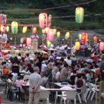 各地区夏祭り・盆踊り大会に参加。