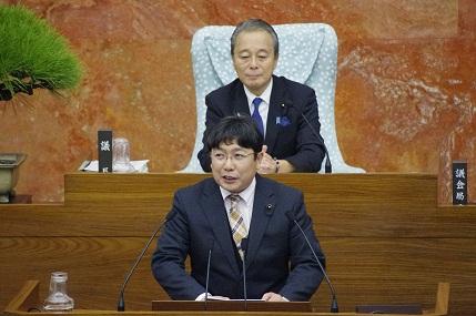 神奈川県議会本会議 一般質問 3回目登壇します。