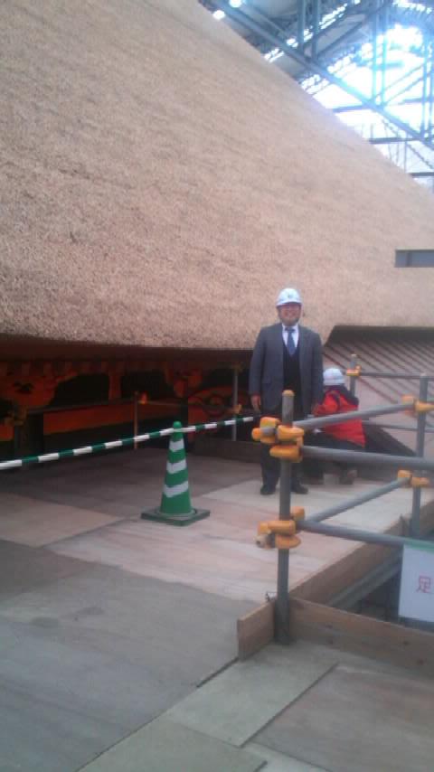 日向薬師・宝城坊本堂見学会に参加しました。