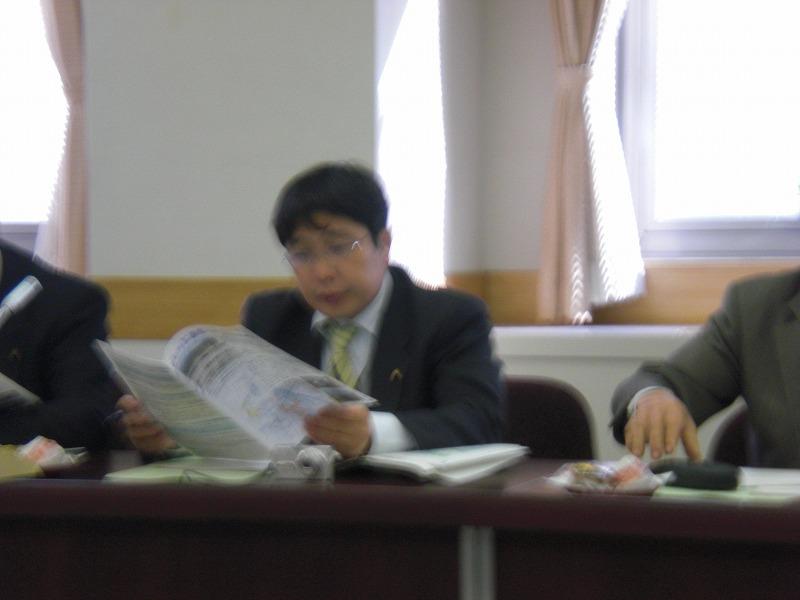 議会全員協議会2009.10.20開催