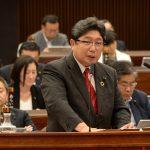 神奈川県議会平成30年第3回定例会にて代表質問登壇しました。